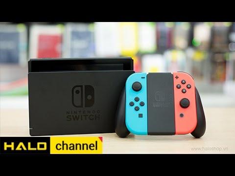 Đập hộp nhanh Nintendo Switch