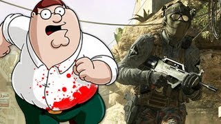 Peter Griffin in Black Ops 2