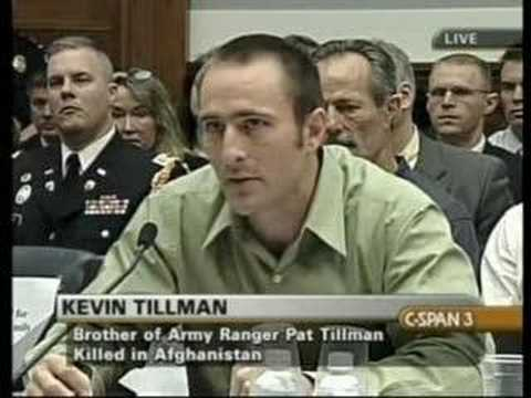 How they lied when Pat Tillman Died