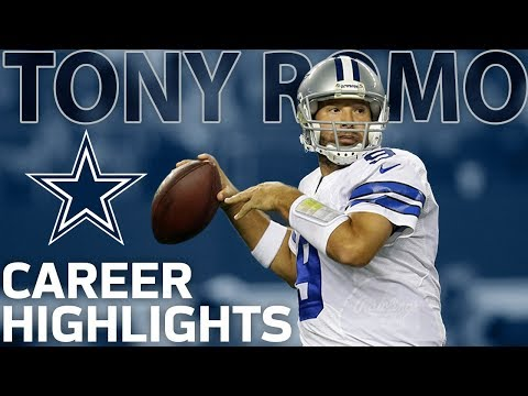 Tony Romo's Career Highlights with the Dallas Cowboys   NFL Legends