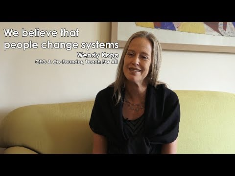 (Teach For All CEO Wendy Kopp Speaks with Nagarik Network - Duration: 26 minutes.)