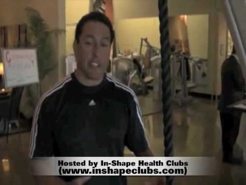 60 Second Rope Workout Challenge at In-Shape Health Clubs