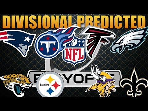 Predicting the 2017 Divisional Round! Madden 18 Franchise Divisional Round Sim Experiment!