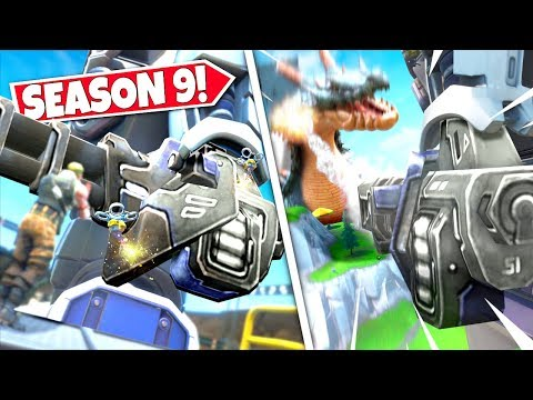 *NEW* GIANT ROBOT ARM *COMPLETED* REVEALING WEAPON TO DEFEAT POLAR PEAK MONSTER! SEASON 9 UPDATE! BR