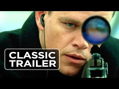 The Bourne Supremacy Official Trailer #1 - Brian Cox Movie (2004) HD