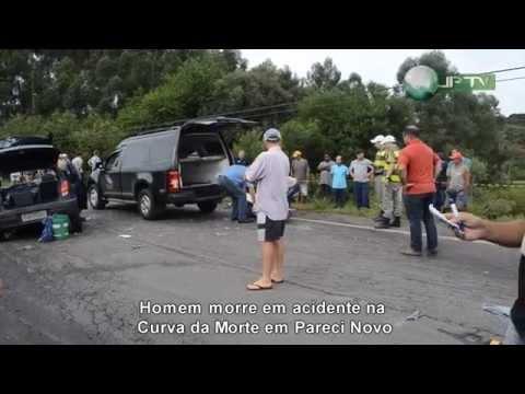 Vídeo:Homem morre em acidente na Curva da Morte em Pareci Novo