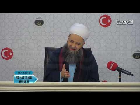 15 Aralık 2016 Tarihli Bu Haftanın Sohbeti - Cübbeli Ahmet Hocaefendi