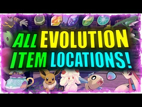 🍓 WHERE TO FIND POPULAR EVOLUTION ITEMS IN POKEMON SWORD AND SHIELD! IN DEPTH GUIDE!