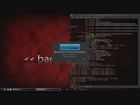 sniffing - Tutorial 1 - In this video, I demonstrate how to use the airmon-ng utility in Backtrack 5 to sniff wireless packets using Wireshark. To view a tutorial on ho...