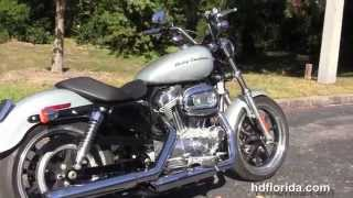 6. Used 2014 Harley Davidson XL883L Sportster Superlow Motorcycles for sale