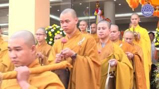 Nguyên Chủ tịch nước Trương Tấn Sang thăm Học viện PGVN 07-05-2016