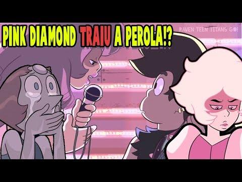 PINK DIAMOND TRAIU A PEROLA!? (Teoria Steven Universo) Mundo dos Desenhos