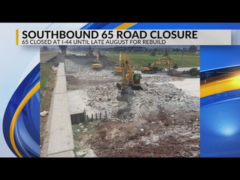 MoDOT Work Shifts to SB 65 North of I-44