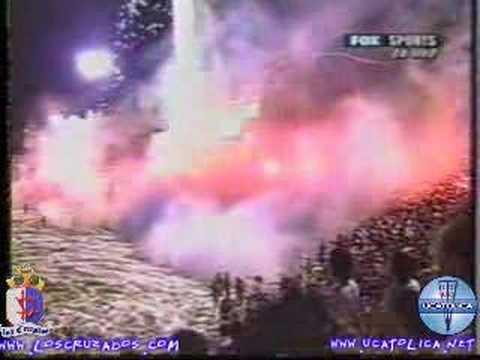 LOS CRuZADOS - SALIDA UC vs boca - COPA SuDAMERICANA - 2005 - Los Cruzados - Universidad Católica