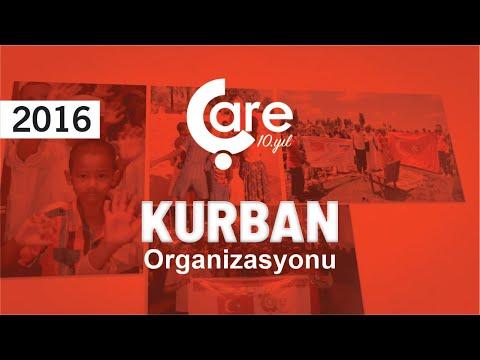 Çare Derneği 2016 Kurban Organizasyonu