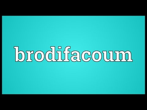 Brodifacoum Meaning