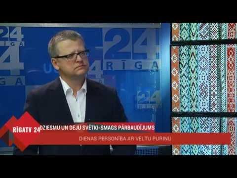 """Veselības ministra intervija Rīga TV 24 """"Dienas personība ar Veltu Puriņu"""""""