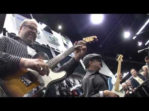 Roscoe Beck & Greg Koch Live at NAMM 2012