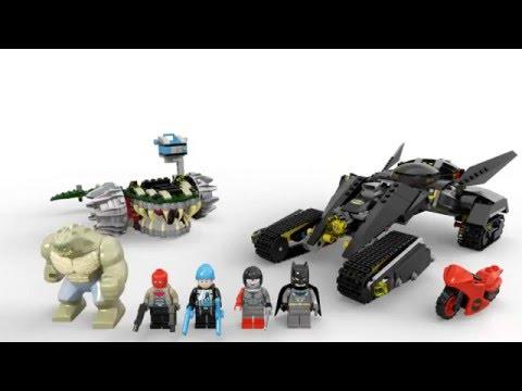 """Конструктор Lego Super Heroes 76055 """"Бетмен: убийца Крок и разгром в канализации"""""""