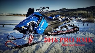 3. 2016 Polaris Pro 800 Ride and Review
