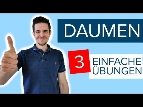 Sofort Hilfe für den Daumen - 3 einfache und schnelle Übungen