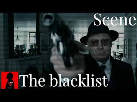 The blacklist 8x9 Elizabeth keen play a dangerous with red Scene