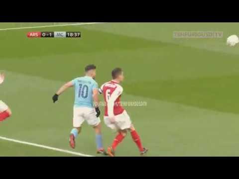 Arsenal vs Man City 0-3 Goals and Highlights