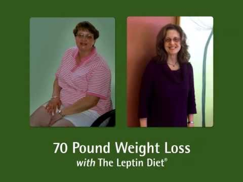 Leptin Diet Success – Dramatic 70 Pound Weight Loss!
