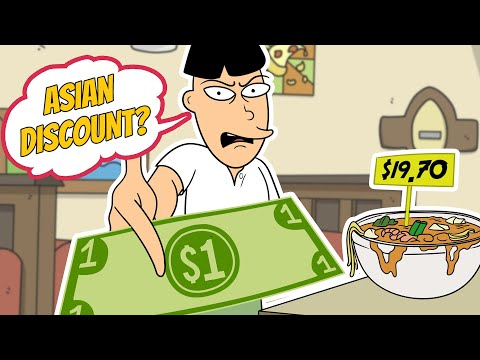 asian - I called a grumpy Asian restaurant as Buk Lau and ultimately tried to get a steep discount on my phone order. I had to bring in 'Tyrone' and 'Russell' when t...