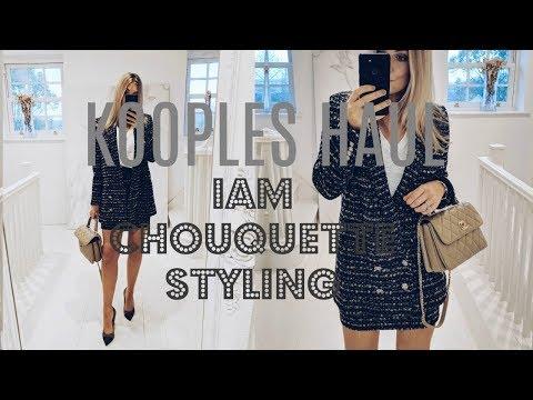 KOOPLES HAUL | IAM CHOUQUETTE STYLING