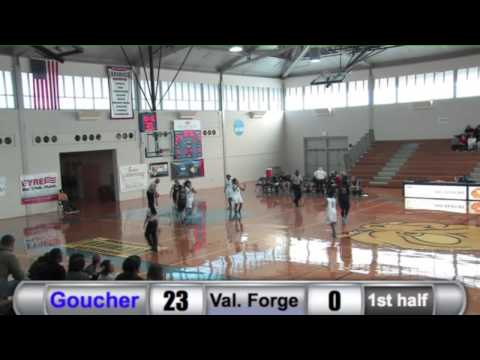 WBK: Goucher vs. Valley Forge Highlights - 11/15/14