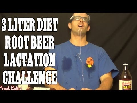 Root Beer Makes You Lactate!? (3 Liter Chug in 5 Minutes) | FreakEating Challenge 48