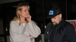 X17 EXCLUSIVE <b>Benji Madden</b> Is A Protective Husband To Wife Cameron Diaz As They Return To LA