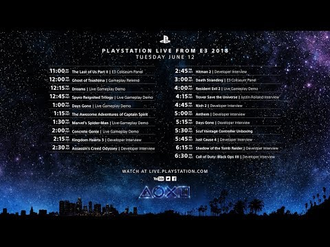 PlayStation Live From E3 Day 1 (видео)