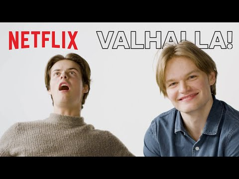 The Norse Mythology Game with David Stakston and Herman Tømmeraas | Netflix