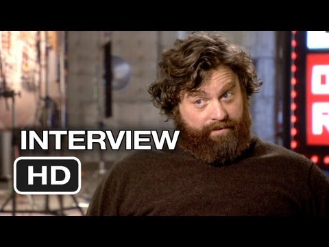 The Hangover Part III Interview met Zach Galifianakis (Alan)
