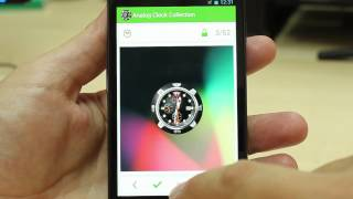 Analog Clock Wallpaper/Widget YouTube video