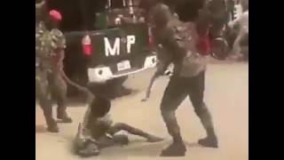 Soldiers beat physically-challenged man for wearing 'camouflage' trousers