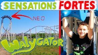 Video VLOG - SENSATIONS FORTES POUR NÉO À WALYGATOR - Les 5 Plus Grosses Attractions du Parc ! MP3, 3GP, MP4, WEBM, AVI, FLV Mei 2017