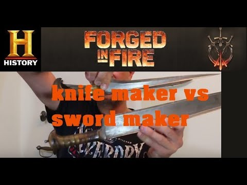 Forged In Fire: Knife Making Vs Sword Making & Afghan 'charay'