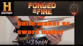 Matt Easton loves History channel TV show Forge in Fire. But it highlights a problem when knife makers try to make good swords. The 'charay' (charah/choora) episode highlights the issue over over-building on swords.https://www.facebook.com/historicalfencinghttp://www.fioredeiliberi.org/training/