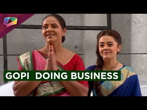 Gopi accepts challenges to make a way for her busi