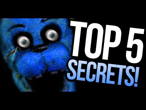 TOP 5 HIDDEN SECRETS! – Five Nights At Freddy's (PARODY)