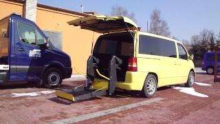 Elektrohydraulická plošina - SKY 001 + el. dveře ve voze MB Vito