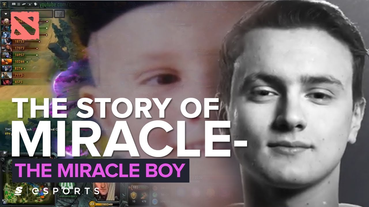 The Story of Miracle- : The Miracle Boy (Dota 2) - YouTube