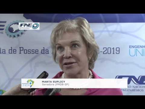 Marta Suplicy – Senadora (PMDB-SP)