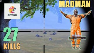 THIS MODE IS AWESOME!!! | MADMAN | 27 KILLS | 100K SPECIAL | PUBG Mobile