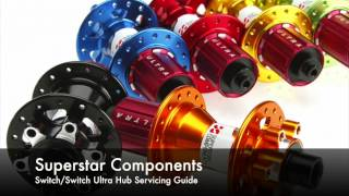 This video will help you to understand how your Superstar Components Switch/Switch Ultra hub works internally, and how to service it with new bearings.