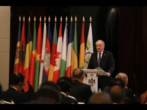 Președintele Nicolae Timofti a participat la Conferința Asociației Curților Constituționale Francofone