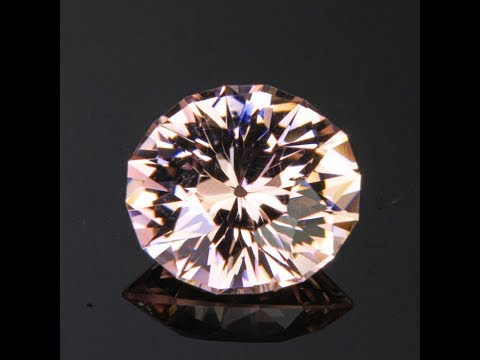 Light Peach Morganite Gemstone 3.38 Carats